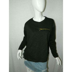 Zara Long Sleeve Round Neck Jumpers Sweatshirt M